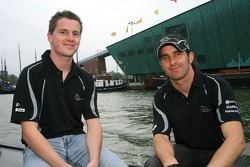 Johnny Reidwith et Matt Halliday