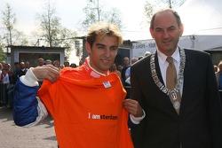 Jeroen Bleekemolen avec Marius Job Cohen