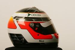 Helmet of Nico Hulkenberg