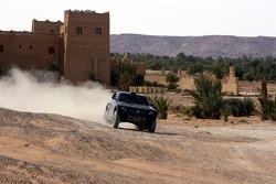 Team Repsol Mitsubishi Ralliart test in Morocco: development test of the Mitsubishi Pajero / Montero Evolution MPR13