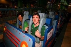 Cosmos World Theme Park, Kuala Lumpur: Tuka Rocha and John O'Hara