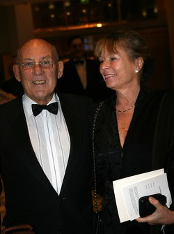 Sir Stirling Moss and wife