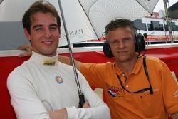 Jeroen Bleekemolen with Jan Lammers