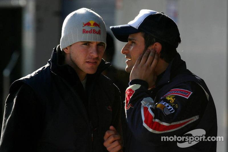 Scott Speed en Vitantonio Liuzzi