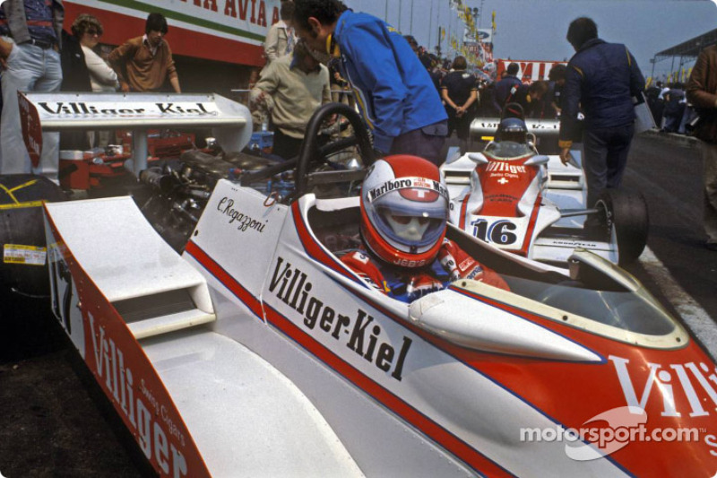 Clay Regazzoni and Hans Stuck