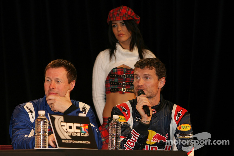 Colin McRae and David Coulthard