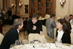 Gala night at Georges V hotel with Fredrik Jonhsson, Sébastien Loeb and Michèle Mouton