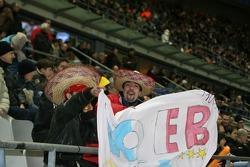Fans of Sébastien Loeb