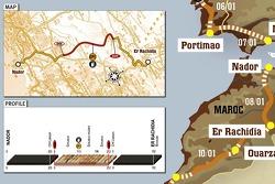 Stage 3: 2007-01-08, Nador to El Rachidia