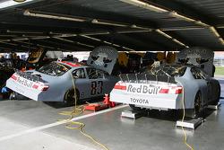 Red Bull Toyota garage area