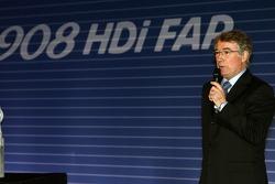 Pressekonferenz: Michel Barge