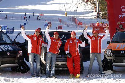 Wroom 2007: F1 basın kayak toplantısı, Madonna di Campiglio