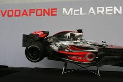 Detail of the McLaren Mercedes MP4-22