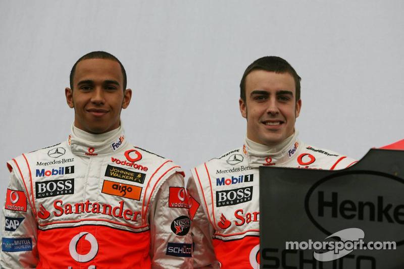 Lewis Hamilton e Fernando Alonso
