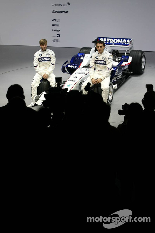 Nick Heidfeld und Robert Kubica, BMW Sauber