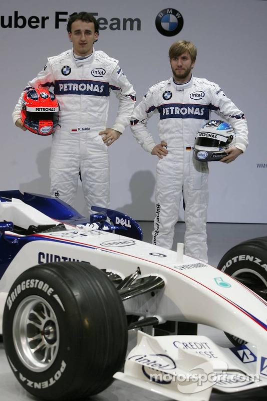 Robert Kubica et Nick Heidfeld