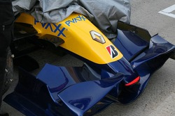 Renault F1 R27 front wing detail