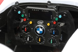 Steering wheel of the BMW Sauber F1.07