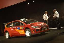 The Citroën C4 WRC is presented