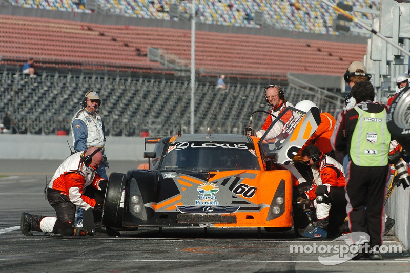 #60 Michael Shank Racing Lexus Riley: Mark Patterson, Oswaldo Negri Jr., Helio Castroneves, Sam Hornish Jr.