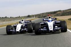 Nico Rosberg y Alexander Wurz