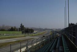 Umbauarbeiten auf dem Autodromo Enzo E Dino Ferrari in Imola