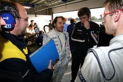 Jacques Villeneuve and Sébastien Bourdais