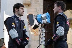 Mark Webber and David Coulthard