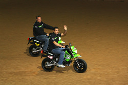 Kawasaki Racing Team : Randy de Puniet et Olivier Jacque