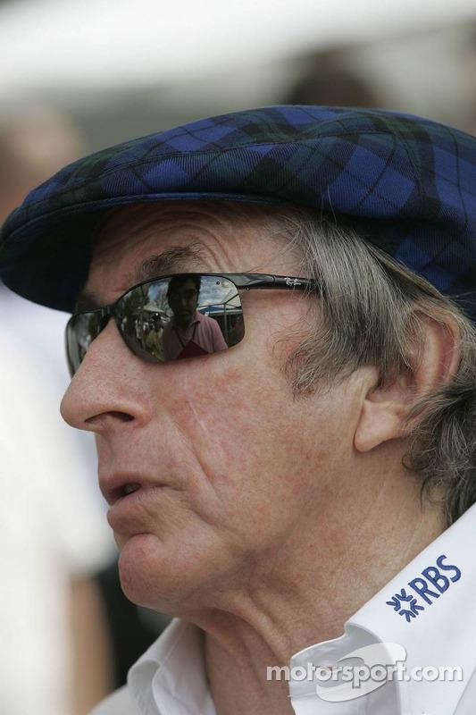 Sir Jackie Stewart, Former F1 World champion