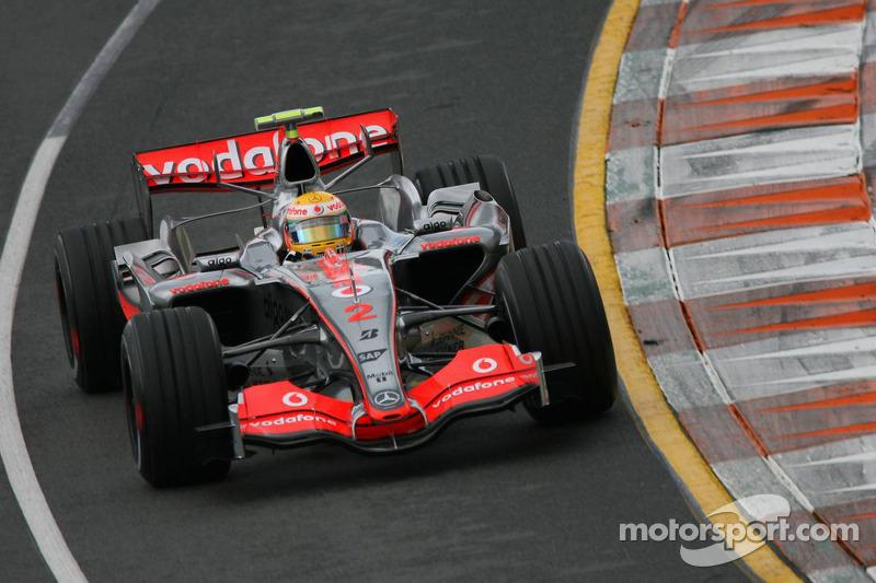 Lewis Hamilton: Grand Prix von Australien 2007