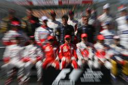 Formula 1, Group Drivers picture, Kimi Raikkonen, Scuderia Ferrari