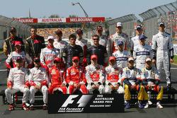 Групове фото гонщиків 2007
