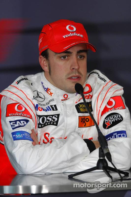 Pressekonferenz: 2. Fernando Alonso, McLaren