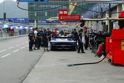 Scuderia Playteam pit area