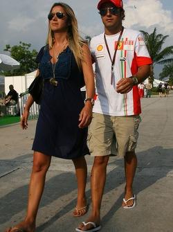 Rafaela Bassi, Girl Friend, girlfriend of Felipe Massa and Felipe Massa, Scuderia Ferrari