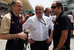 Franz Tost, Karl-Heinz Zimmermann and co-owner Gerhard Berger