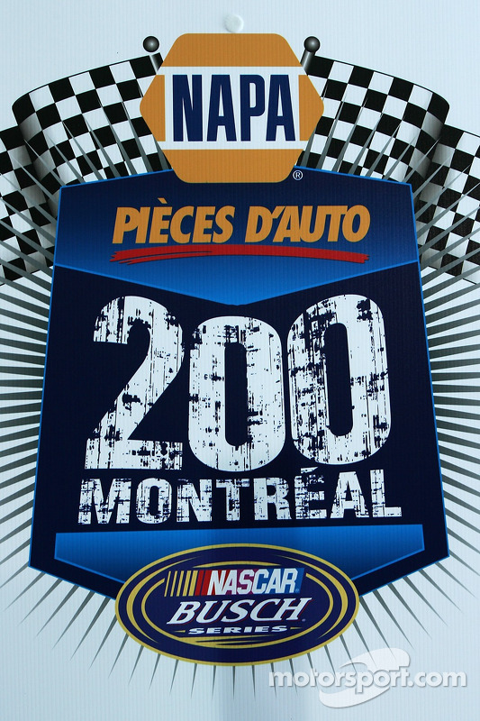 Logo For The Montreal Napa Auto Parts 200 Nascar Busch Series Race
