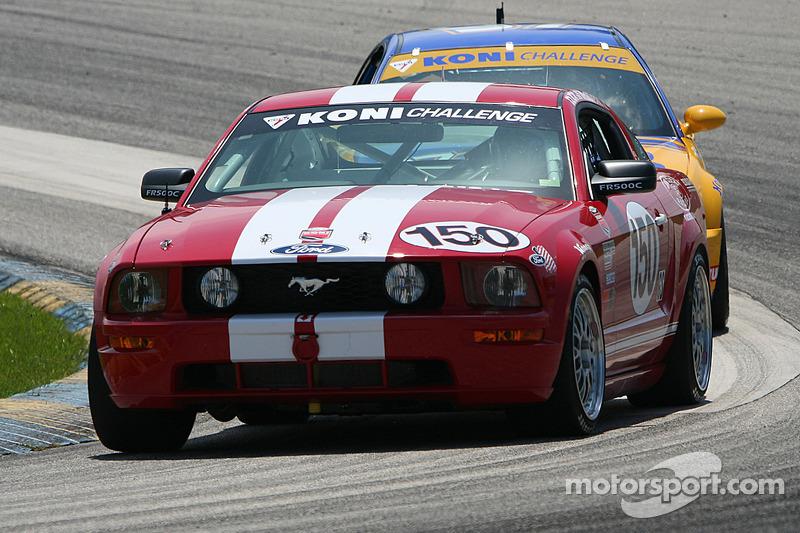 #150 Jim Click Racing Mustang GT: Jim Click, Mike McGovern