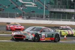 #22 Aston Martin Racing BMS Aston Martin DBR9: Enrico Toccacelo, Ferdinando Monfardini
