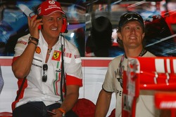 Michael Schumacher, Scuderia Ferrari, Advisor ve Sete Gibernau, eski  MotoGP Rider