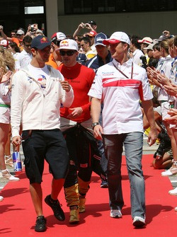 Ralf Schumacher, Toyota Racing, Vitantonio Liuzzi, Scuderia Toro Rosso, Scott Speed, Scuderia Toro Rosso