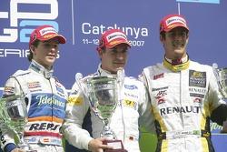Timo Glock, Javier Villa and Lucas di Grassi