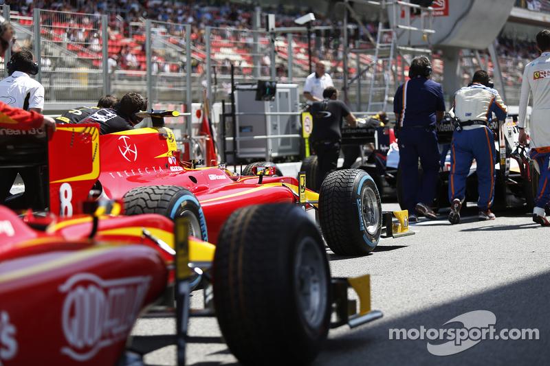 Das Auto von Alexander Rossi, Racing Engineering
