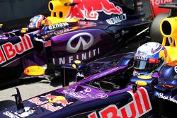 Daniel Ricciardo and Daniil Kvyat, Red Bull Racing RB12