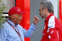 Ники Лауда, Mercedes с Маурицио Арривабене, Ferrari