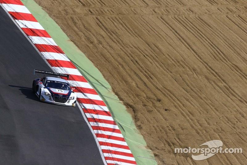 #75 ISR Audi R8 LMS Ultra: Filip Salaquarda, Марко Бонаномі