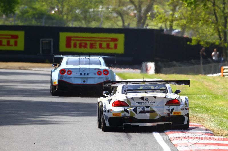 #888 Triple Eight Racing, BMW Z4: Joe Osborne, Lee Mowle