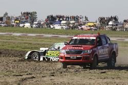 Bergung von Emiliano Spataro, UR Racing, Dodge