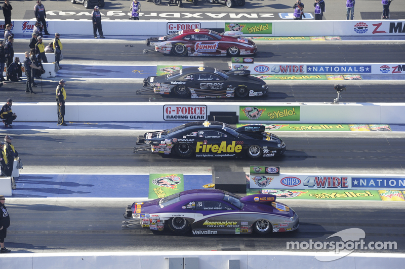 Four wide action